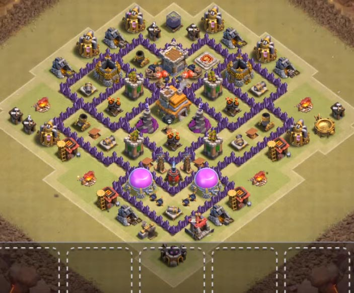 anti everything th7 war base