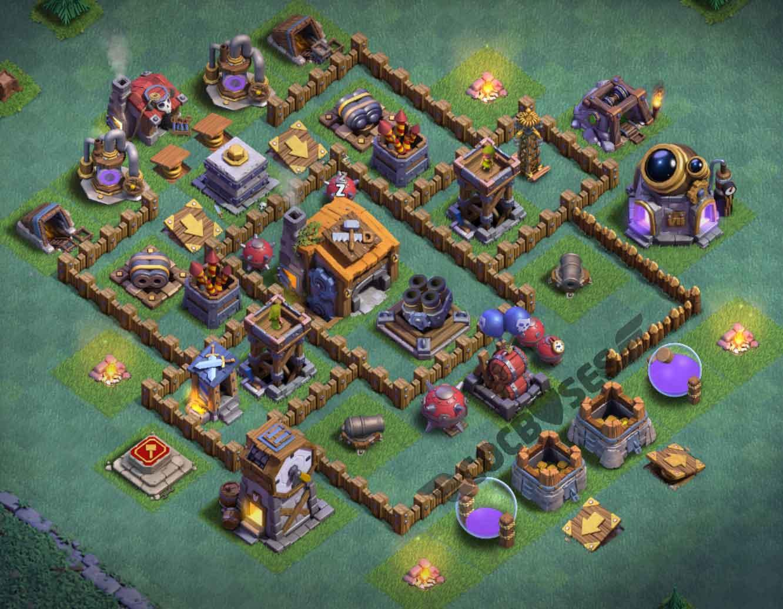 5 Base Builders Clans Clash Level
