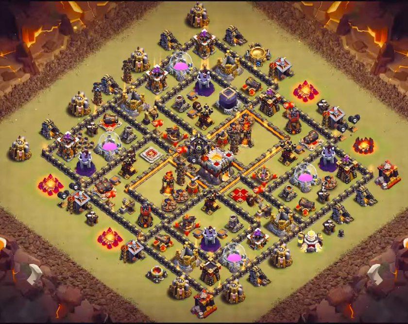 level 10 war base anti everything