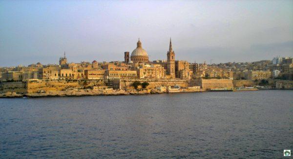 panorama di Valletta Malta