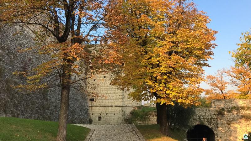 Fogliage al Castello di Brescia