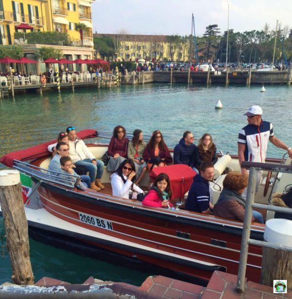 Gita sul lago di Garda con il taxi boat