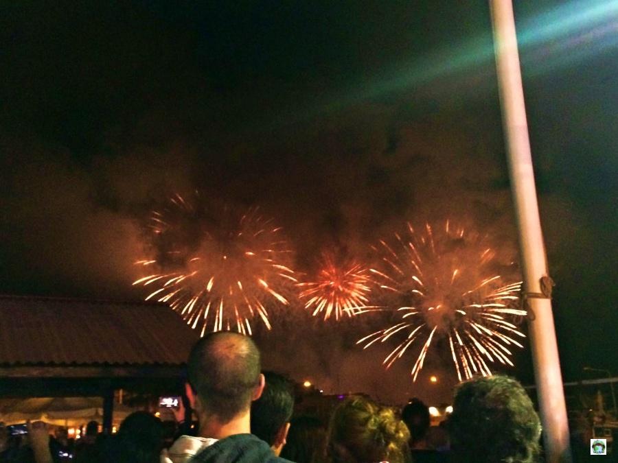 Fuochi d'artificio a Malta