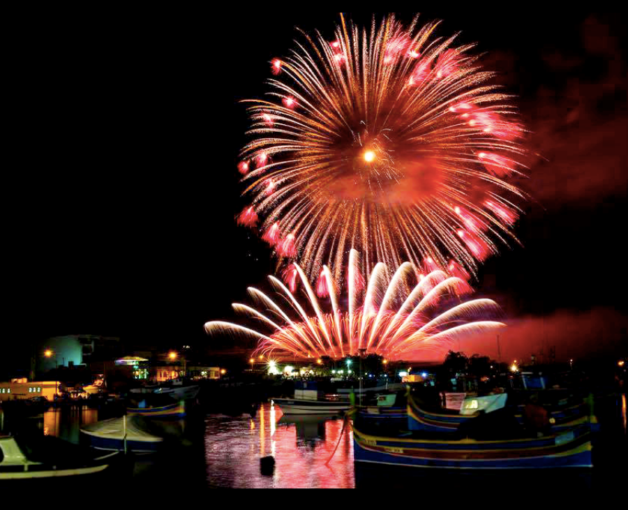 Malta International Fireworks Festival