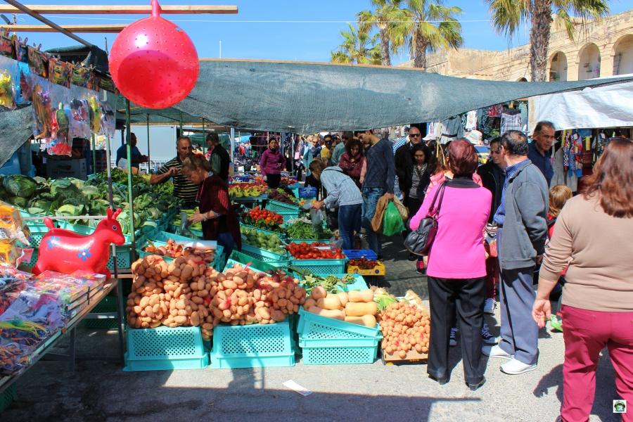 Mercato a Marsaxlokk Malta
