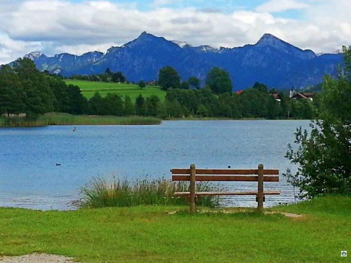 Fussen laghi della Baviera