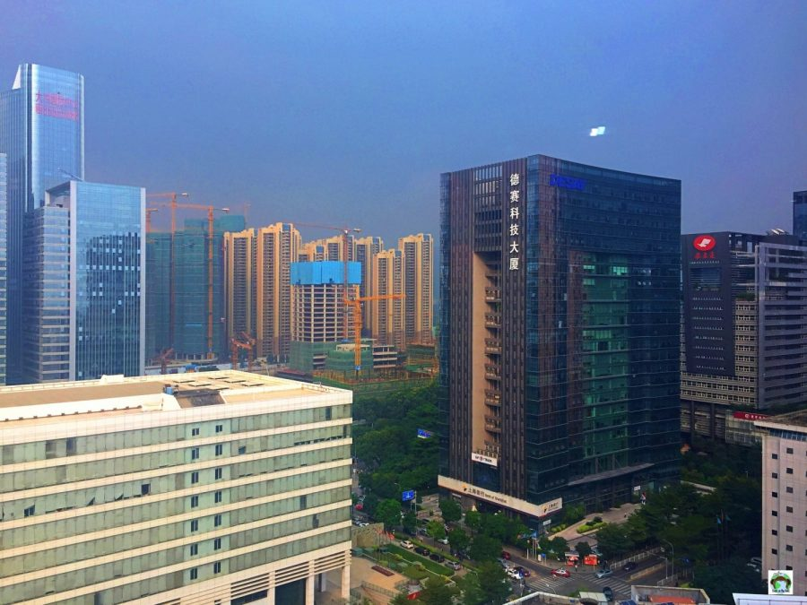 Shenzhen è online - Cocco on the road
