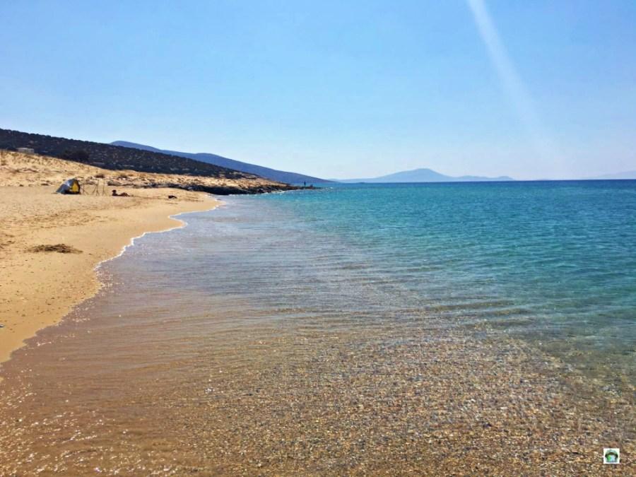 Il mare dell'isola di Naxos - Cocco on the road
