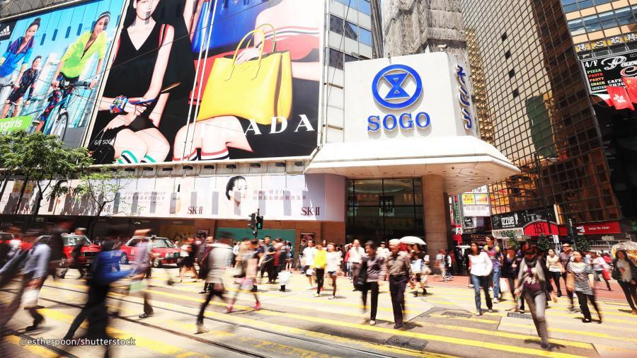 Shopping Causeway Bay  - Hong Kong