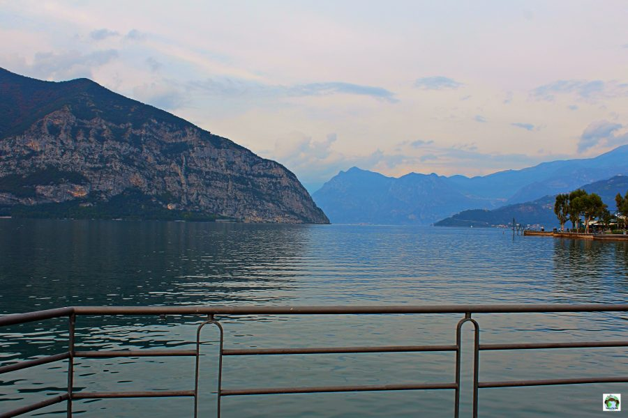 Iseo panorama - Cocco on the road