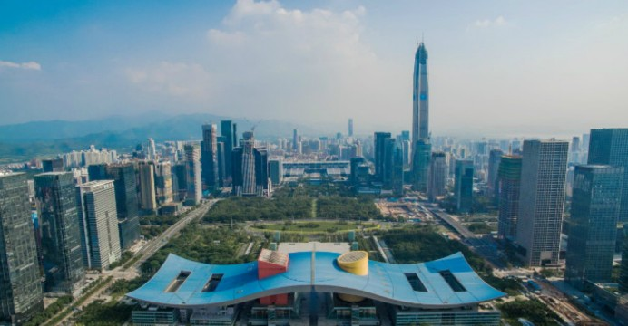 Panorama di Shenzhen