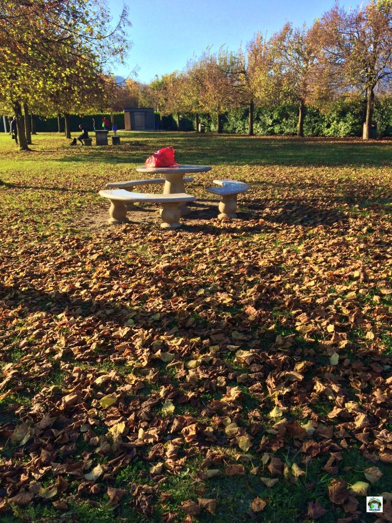 Area picnic al lago Santa Croce