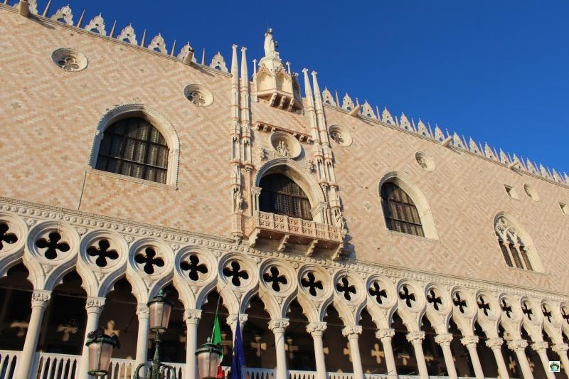 Facciata Palazzo Ducale Venezia