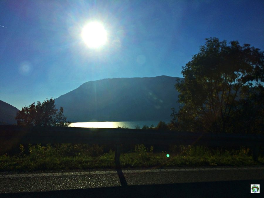 Panorama sul lago santa Croce - Cocco on the road