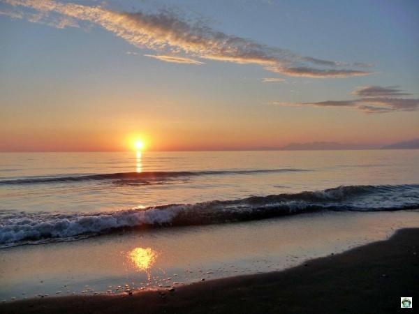 tramonto Albania mare spiagge