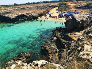 La spiaggia di Porto Camicia