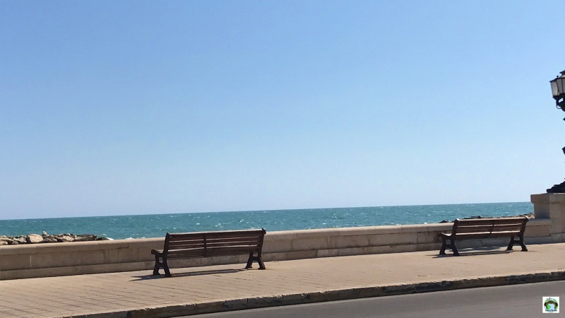 lungomare di Bari on the road
