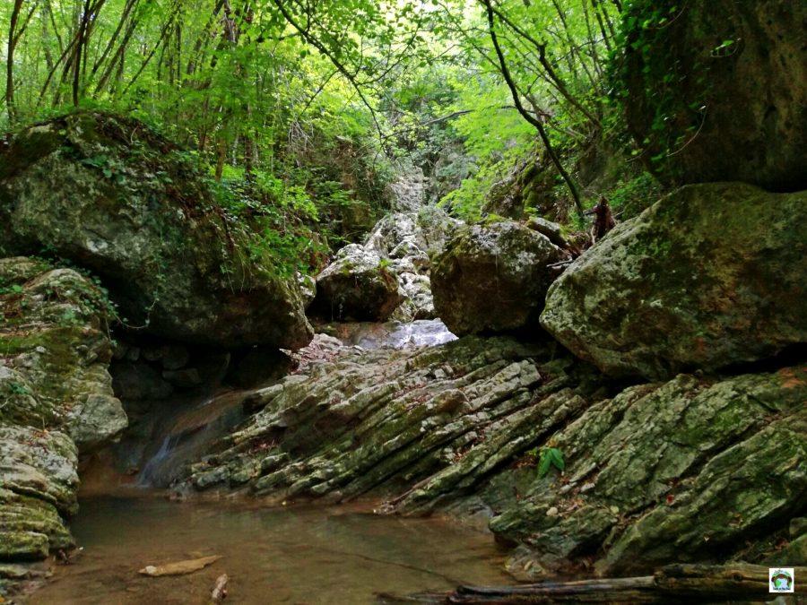 Sentieri cascate Monticelli Brusati