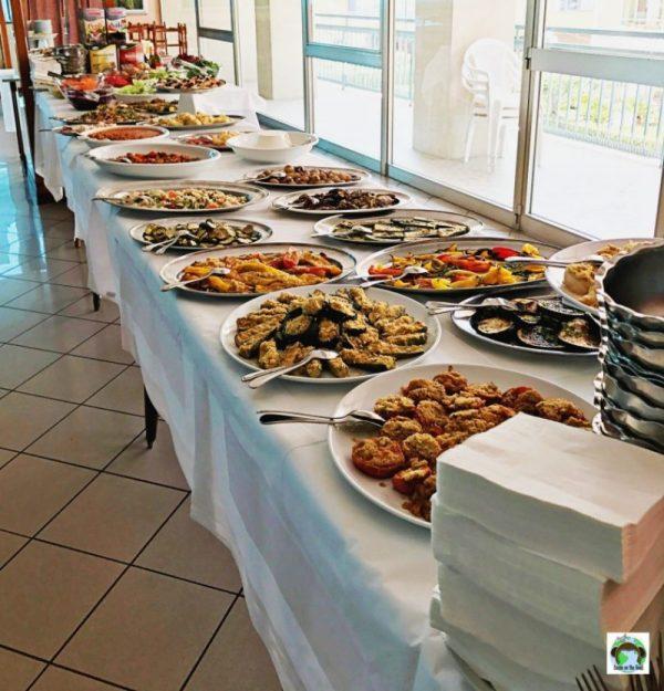 buffet cibi tradizionali