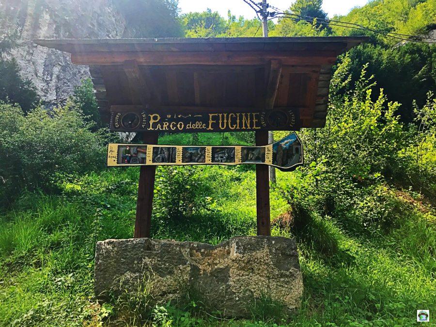 Parco delle Fucine di Casto - Cocco on the road