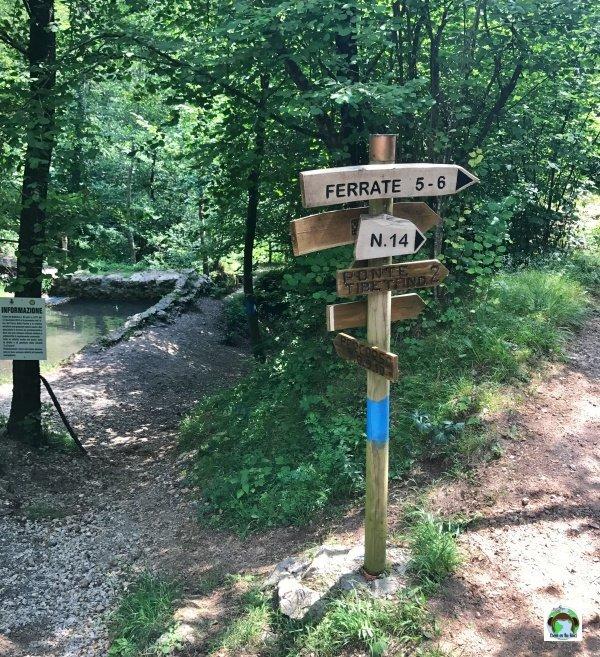 Trekking parco Fucine Casto