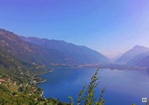 panorama lago di Idro