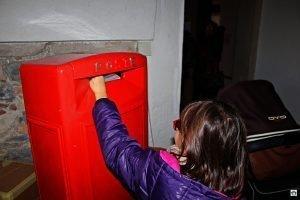 Casa di Babbo Natale lettera