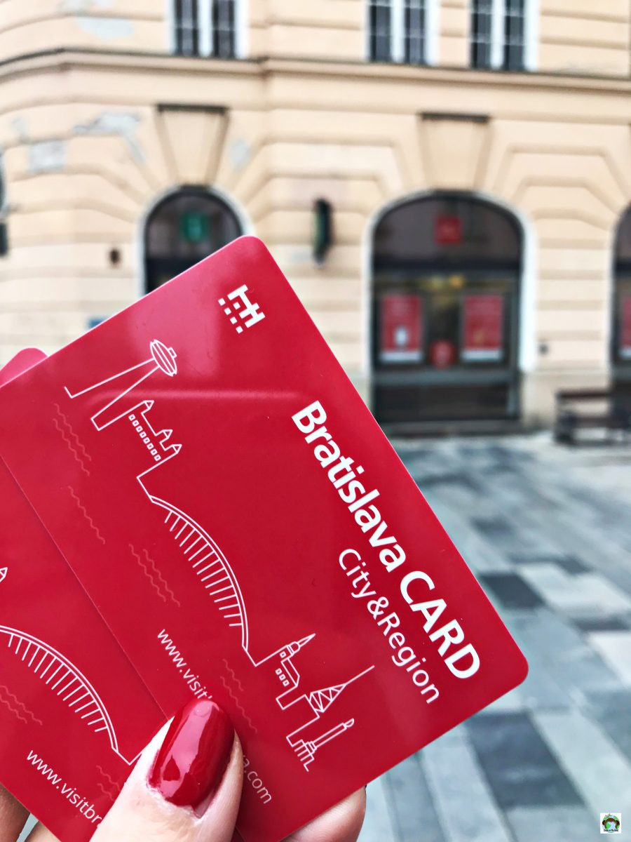 Bratislava card - Cocco on the road