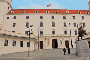 Castello di Bratislava - Cocco on the road