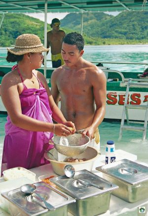 Huahine isola dei pescatori