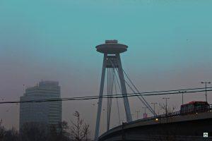 Bratislava cosa vedere Lucchetti sopra UFO
