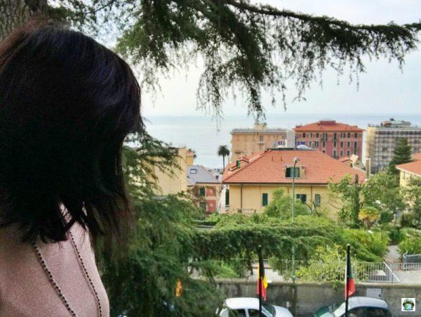 vista Marina di Varazze da Hotel