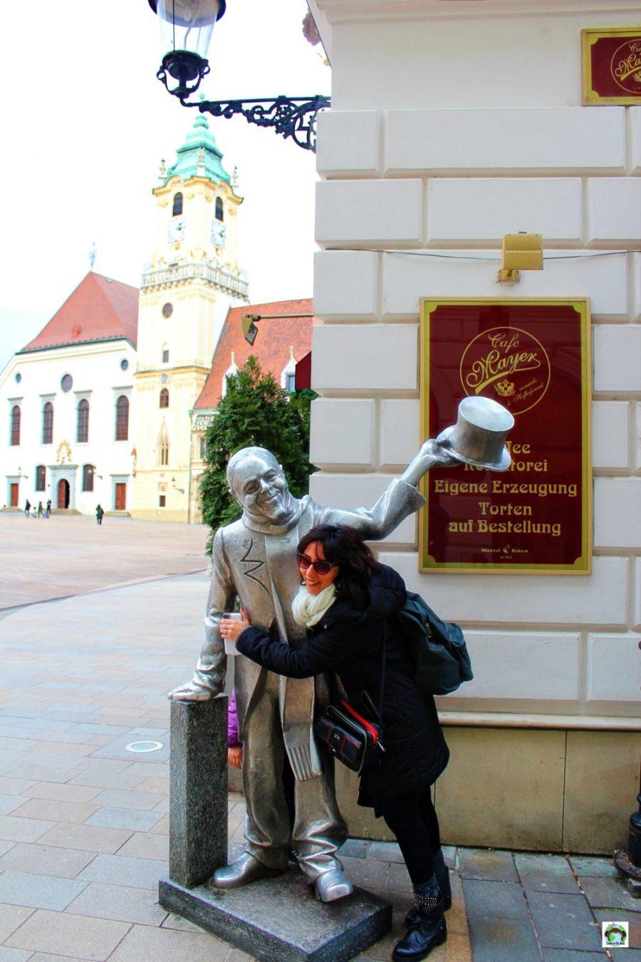 Il bell'Ignazio a Bratislava - Cocco on the road