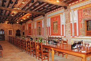 Sala degustazione Borgo la Caccia - Cocco on the road