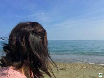 io in spiaggia a Varazze