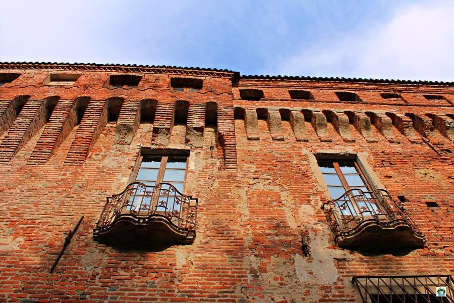 Castello di Padernello esterno