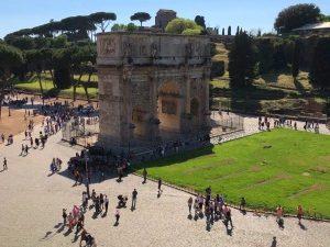 Roma vista dal Colosseo