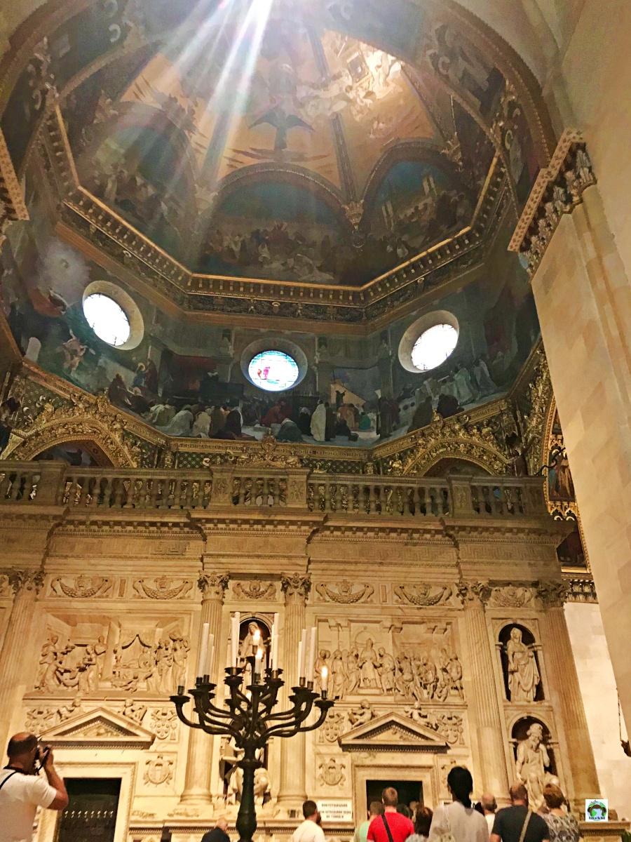Interno della basilica della Santa Casa di Loreto