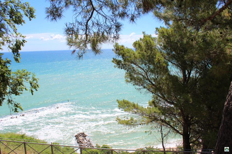 Panorama sulla Riviera del Conero