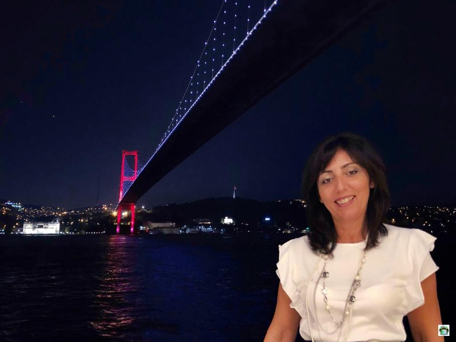 Cena romantica a istanbul