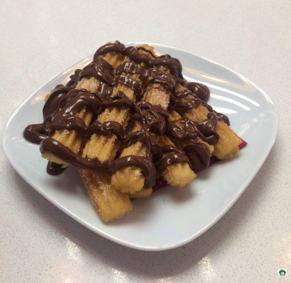 Churros con Nutella Barcellona