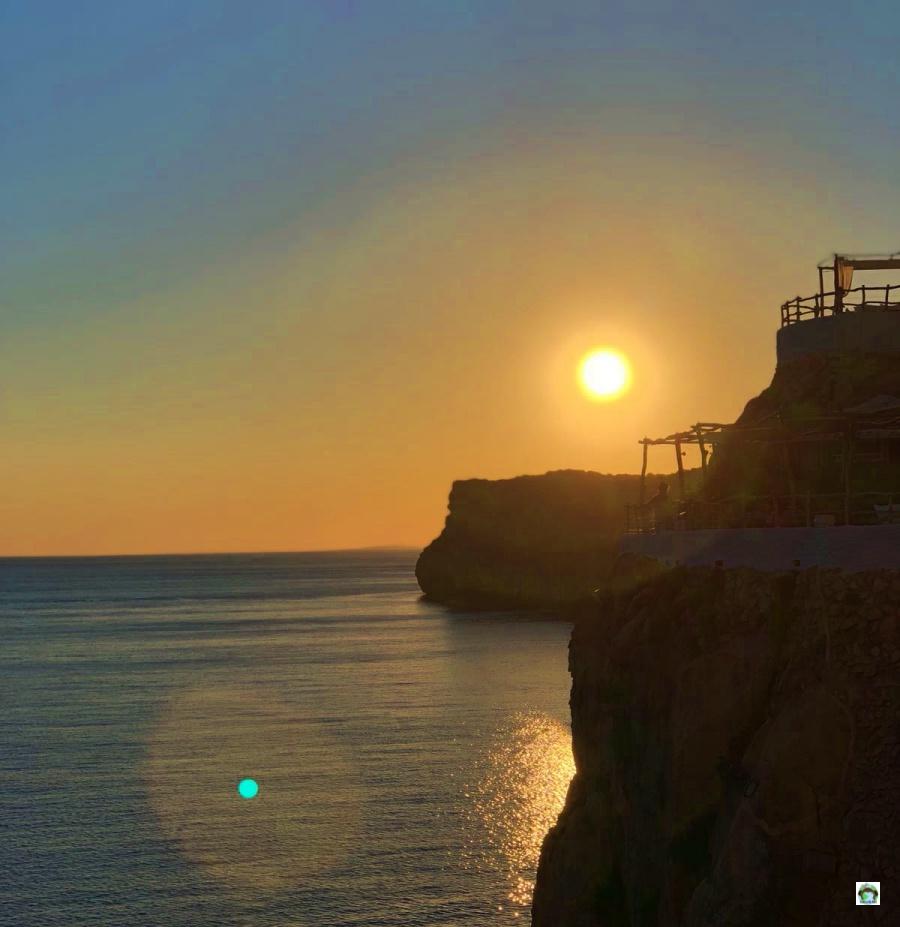 Minorca tramonto a Cova d'en Xoroi