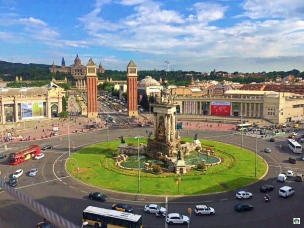 Piazza di Spagna Barcellona