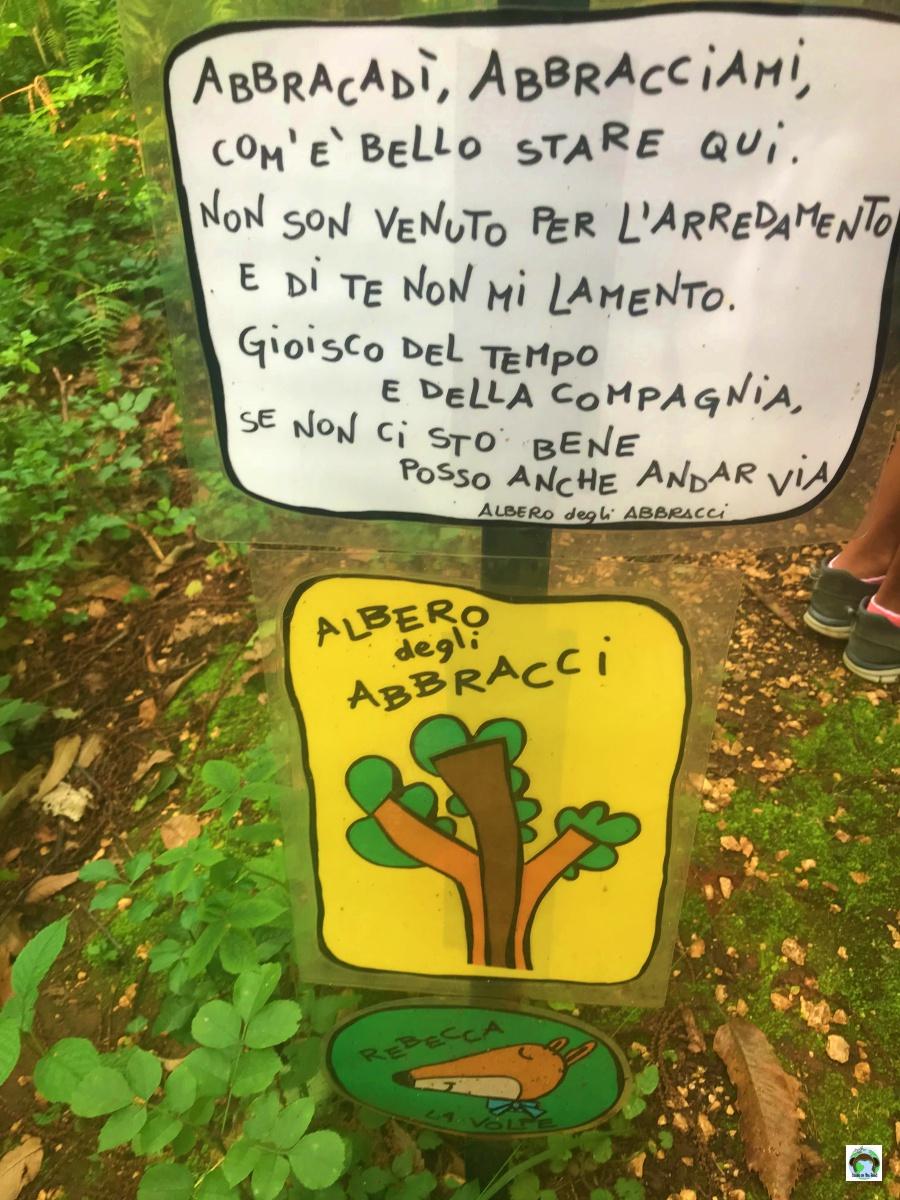 Bosco magico Catena Rossa fattoria didattica