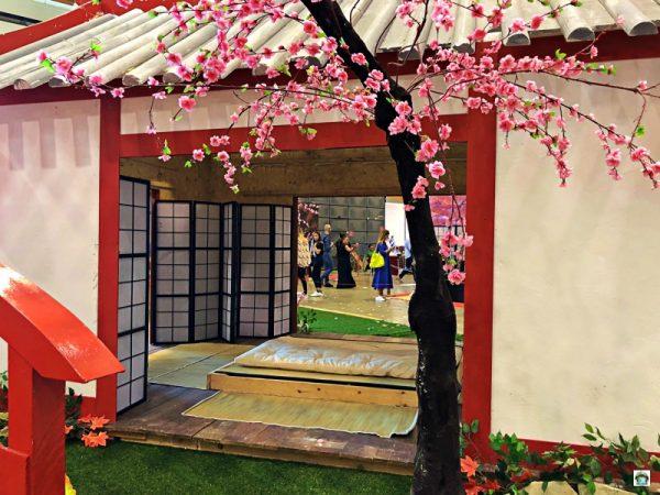 Festival dell'Oriente ryokan giapponese