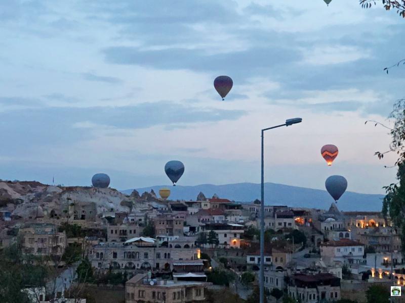 Giro in mongolfiera Cappadocia