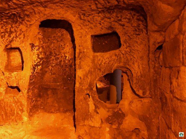Cosa vedere in Cappadocia città sotterranee
