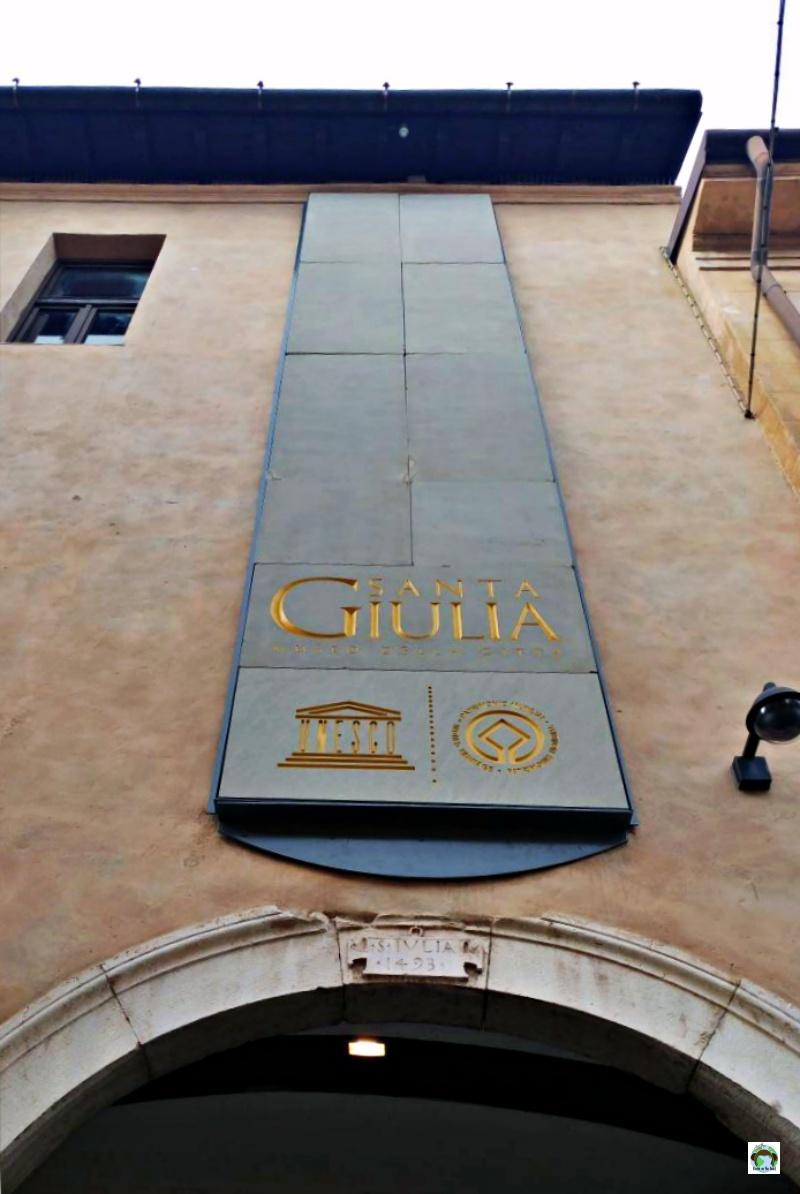 Entrata Museo Santa Giulia