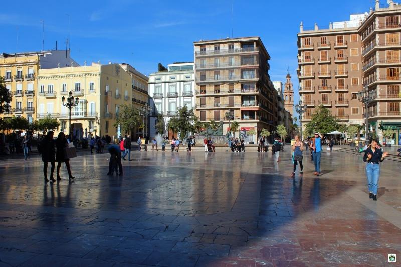 Valencia piazza