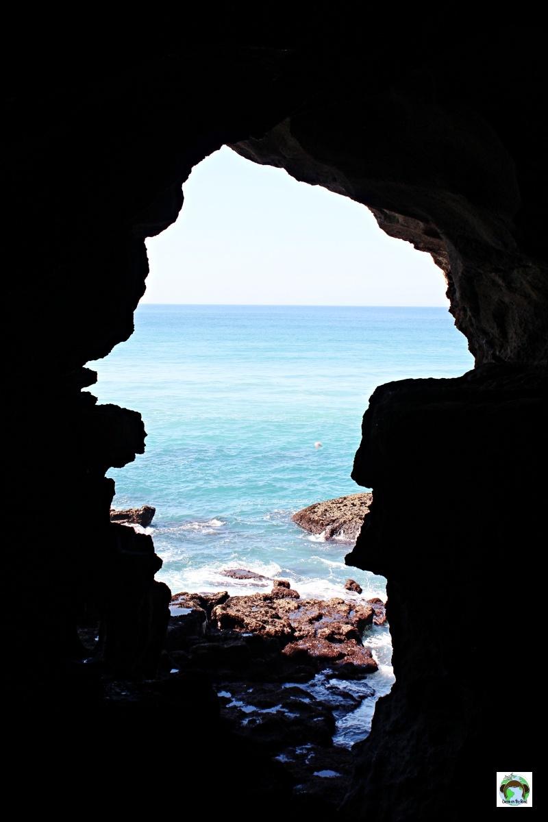 finestra sul mare grotta